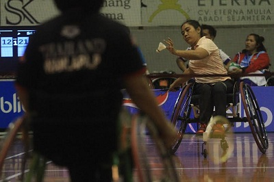 Atlet dari 13 Negara Bersaing di Para Badminton Indonesia di Solo Jawa Tengah