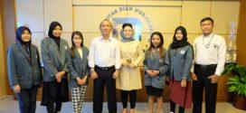 Lima Mahasiswa Udinus Terbang ke Korea untuk Kuliah Satu Semester