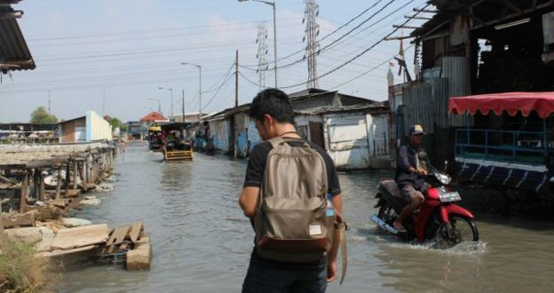 Banjir Rob Kembali Terjang Pantura di Genuk dan Kaligawe