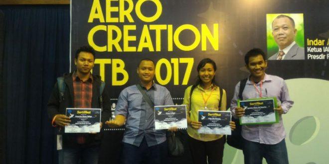 Srone Corner Unika Juara Pertama Aerocreation ITB 2017