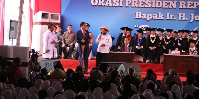 Jokowi Ingin Undip Ciptakan Tunas-tunas Bangsa