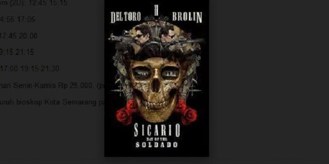 Informasi Jadwal Film di Bioskop-bioskop Semarang Hari Ini
