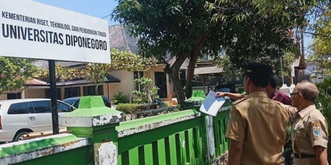 Kampus Undip di Batang Akan Mulai Per 10 September 2018