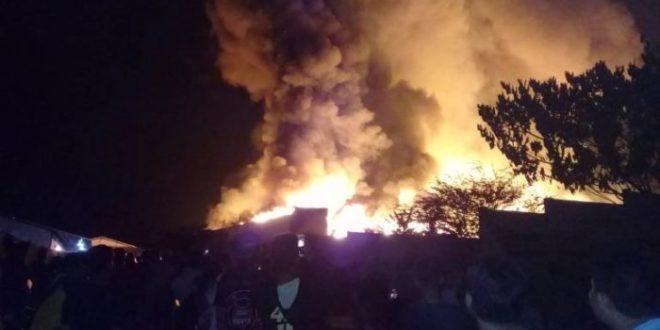 Pabrik Pengolahan Kayu PT Sabda Alam Prima Nusa Cilacap Terbakar