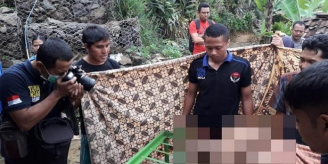 Mayat Suhad Ditemukan di Pinggir Sungai Pining Losari Rembang Purbalingga