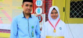 Rifda Rizkyadira Ardhityaputri Siswi SMP Islam Al Azhar 23 Kalibanteng Semarang Raih Emas HKIMO