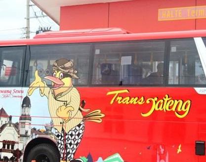 Tarif dan Rute Bus Trans Jateng Koridor 2 Kedungsepur Semarang Kendal