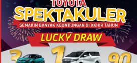 Toyota Spektakuler, Semakin banyak Keuntungan di Akhir Tahun, Lucky Draw
