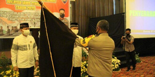 Wakapolda Jateng Lantik Pengurus FKPM Da'i Kamtibmas Jateng