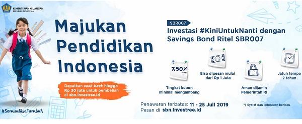 Investasi Paling Aman dan Dijamin Negara: Savings Bond Ritel SBR004