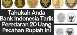 Bank Indonesia Tarik Peredaran 20 Uang Pecahan Rupiah Ini, Tak Berlaku Lagi
