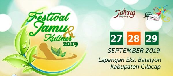 Saksikan Festival Jamu dan Kuliner 2019 di Lapangan eks Batalyon 405 Cilacap