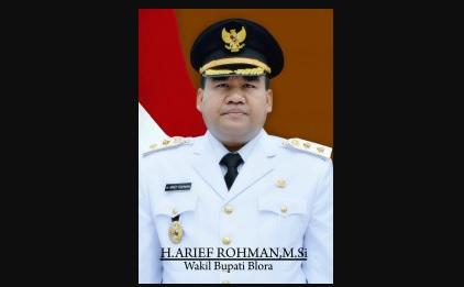 Profil Arif Rohman Wakil Bupati Blora