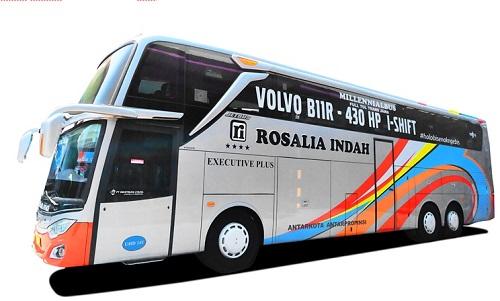 Mengenal Jenis Bus Rosalia Indah dari Double Decker hingga Big Top