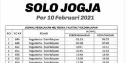 Jadwal KRL Yogyakarta Solo Lengkap 2021