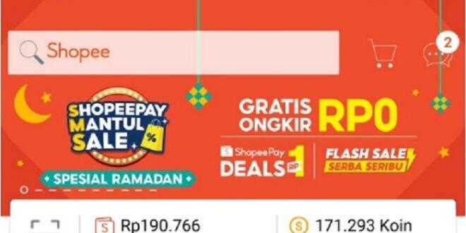 Gajian di Tengah Ramadhan, Promo Rp1 hingga Gratis Ongkir ShopeePay Mantul Sale