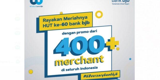 HUT bank bjb Digelar ratusan promo Tandamata
