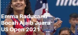 Emma Raducanu Bocah Ajaib Juara US Open, Inilah Rekor Fenomenalnya